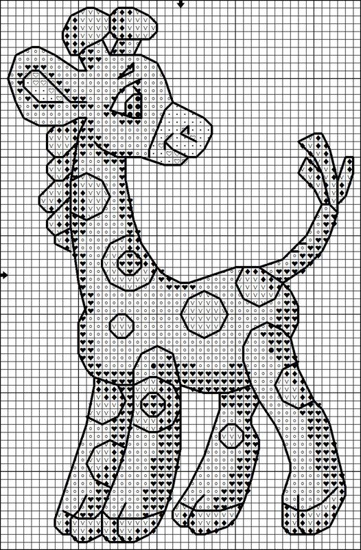 Декабрь 23rd, 2011. trackback.  Схема. вышивки крестиком. с Вашего собственного сайта.  Жирафика в горошек.