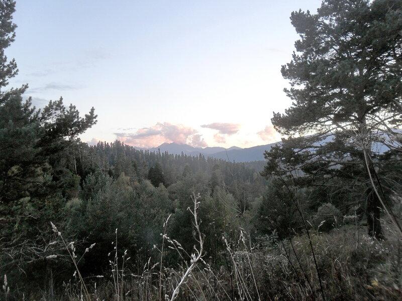 В горах..., вечер, сентябрь 2012