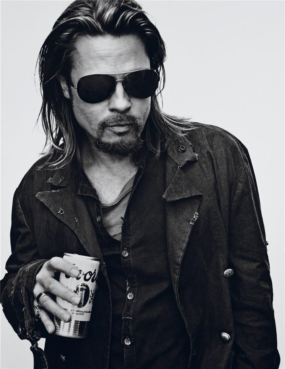Brad Pitt / Брэд Питт в журнале Interview Magazine, ноябрь 2012 / фотограф Steven Klein