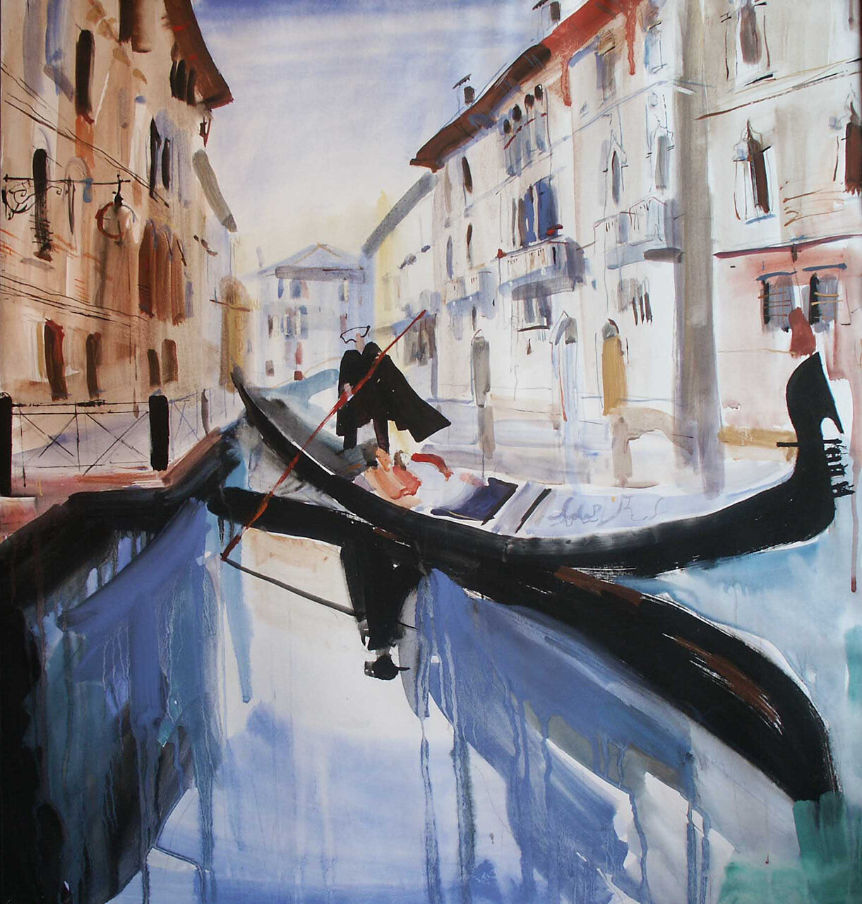 002  .Venise. Gondolier