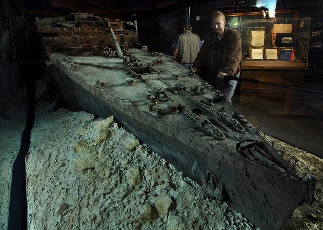 Музей Титаника в Бренсоне. США