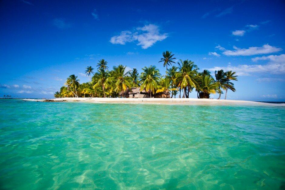 Острова Сан Блас, Панама. Затерянный райский уголок