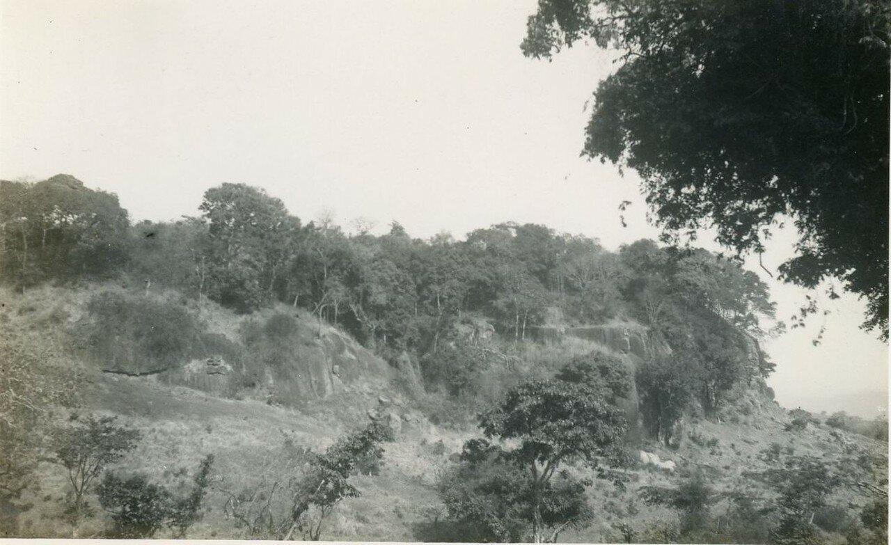 1920. Западная Африка.  Африканский пейзаж