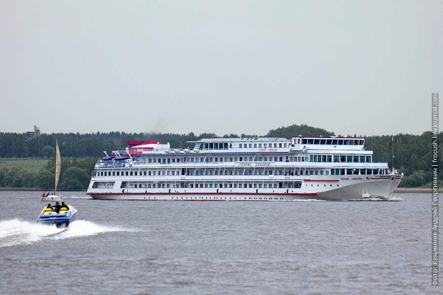 2 июня 2012 года Клязьминское водохранилище Теплоход «Леонид Соболев»