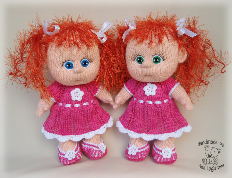 Tigerzap Вязаные куклы спицами мастер-класс с описанием и...