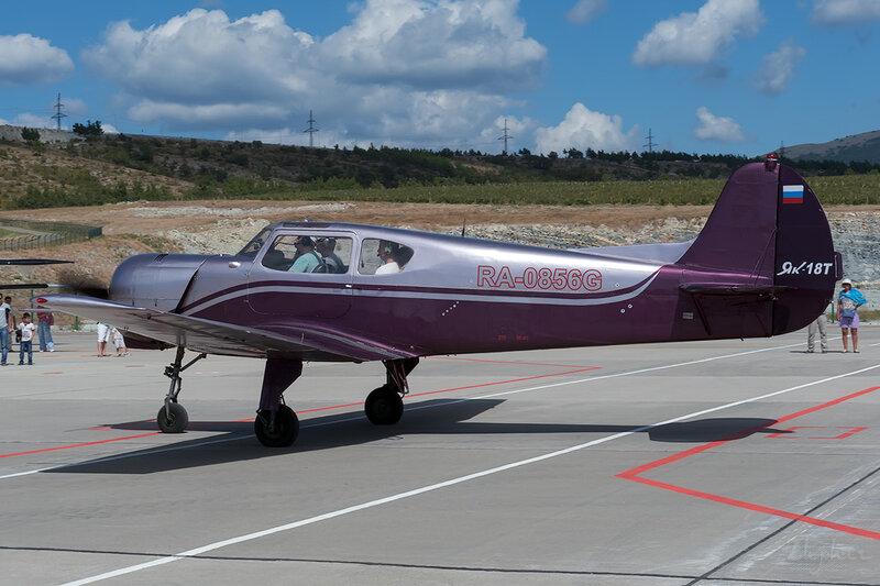 Яковлев Як-18Т (RA-0856G) DSC_4525