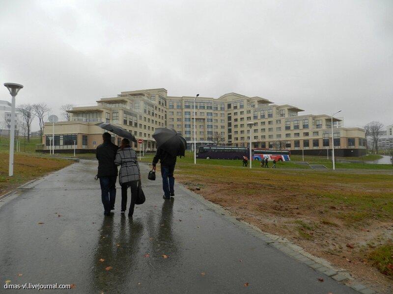 Кампус ДВФУ на острове Русском. 28-октября-2012г