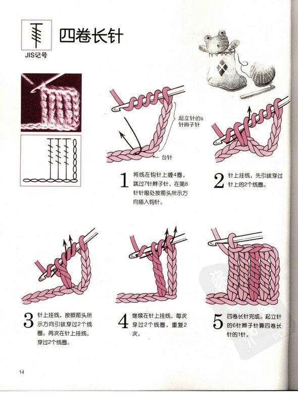 Вязание крючком с нуля обучение 88
