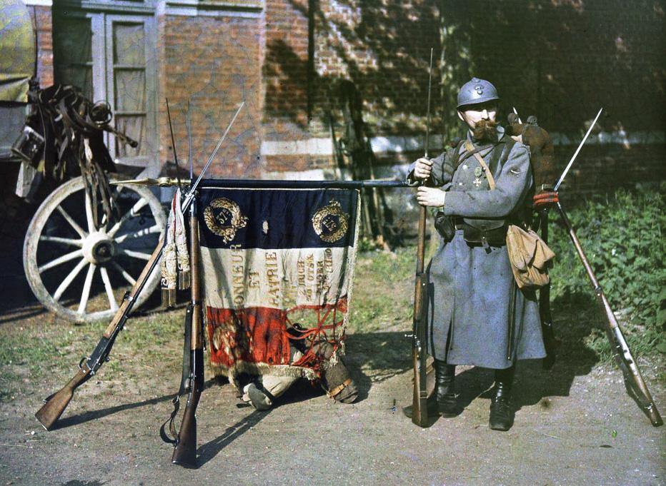 20 век в цвете. Краски войны и мира 100 лет назад!