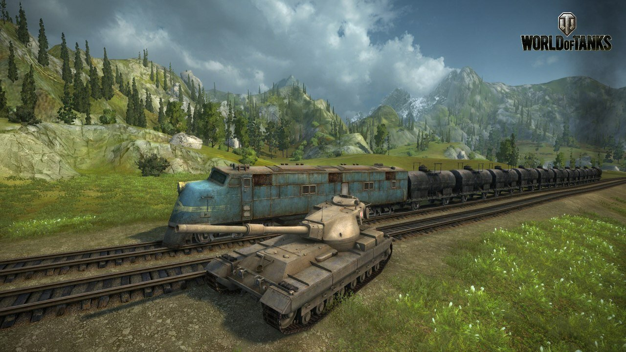 Танк FV215b в World of Tanks