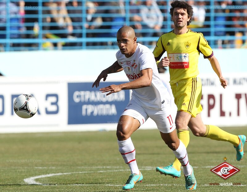 «Анжи» vs «Спартак» 2:1 Премьер-лига 2012-2013 (Фото)