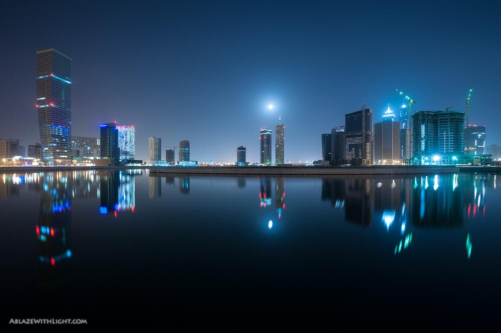 Городские пейзажи Дубаи