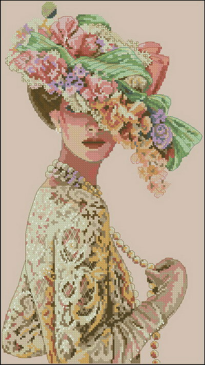 """Схема - 03823 -  """"The Victorian Elegance """", фото 1 - Схемы для вышивания крестиком."""