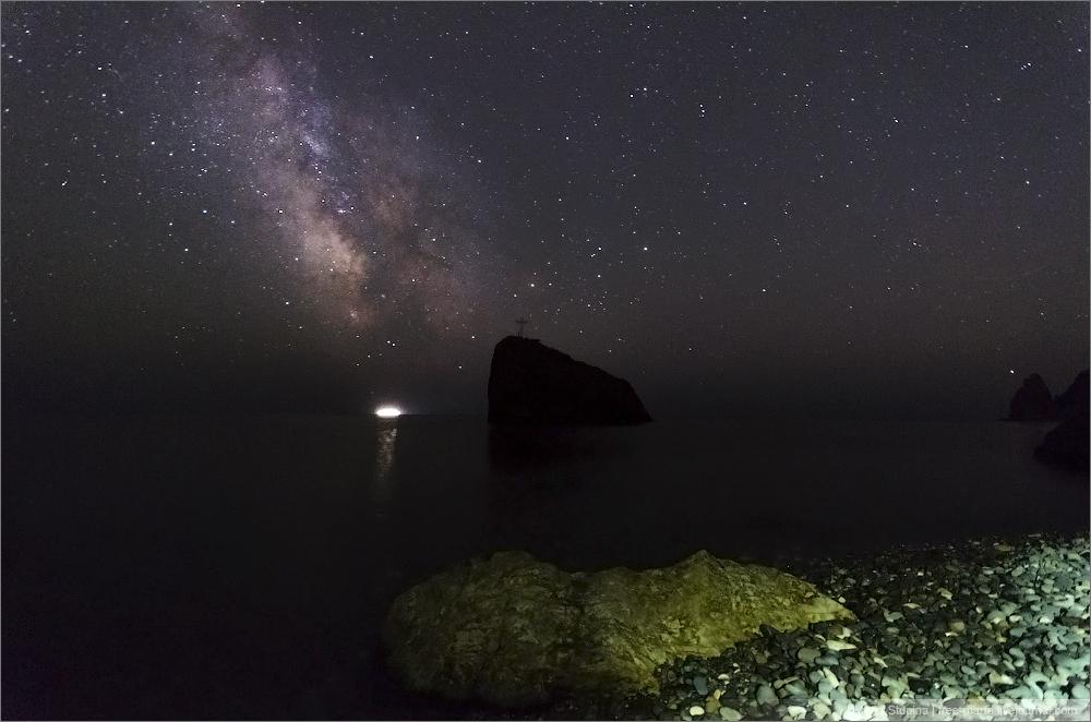 Фиолент звезд