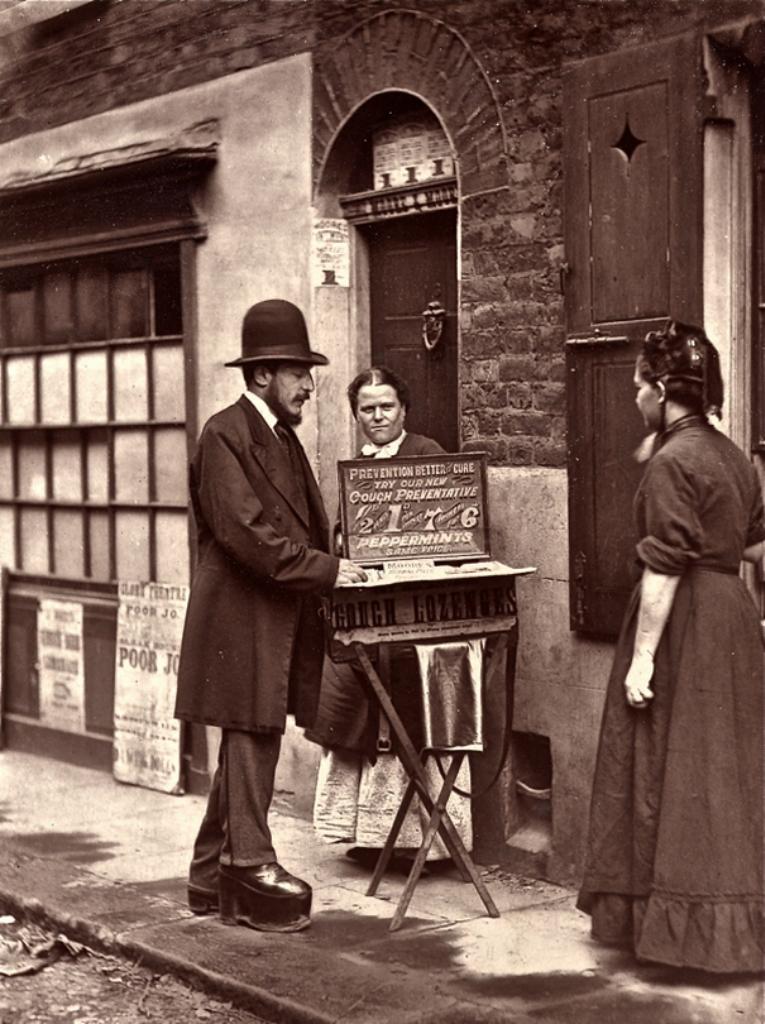 Лондон в 1876 году