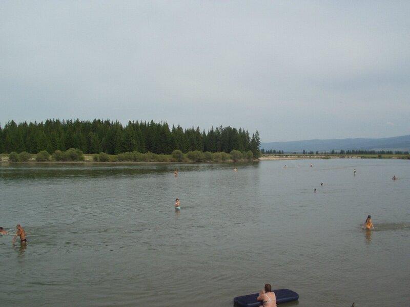 Речка в Иркутской области