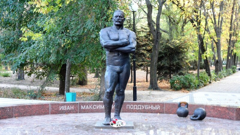 Великий борец - Иван Максимович Поддубный