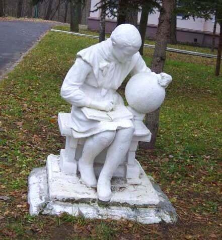 полушкинские карьеры, Васильевское, скульптура