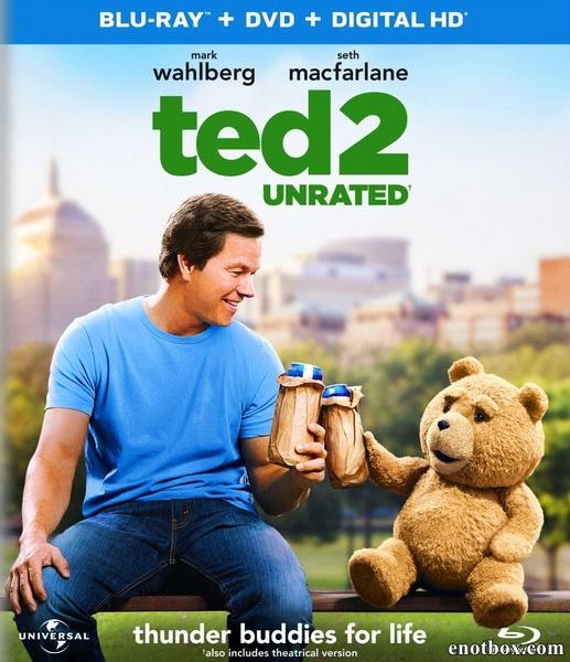 Третий лишний 2 [Расширенная] / Ted 2 [UNRATED] (2015/BDRip/HDRip)