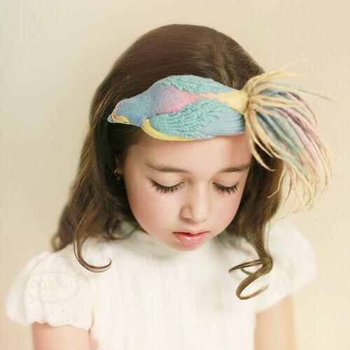Коллекция шляпок-накладок