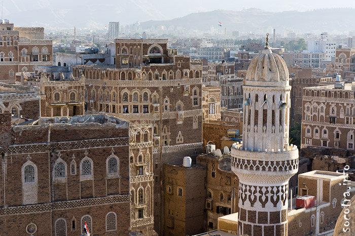 Сана, Йемен, 2012, Старый город, архитектура