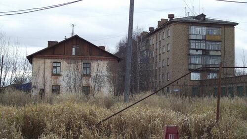 Фото города Инта №2012  Заводская 3а и 4 07.10.2012_14:10