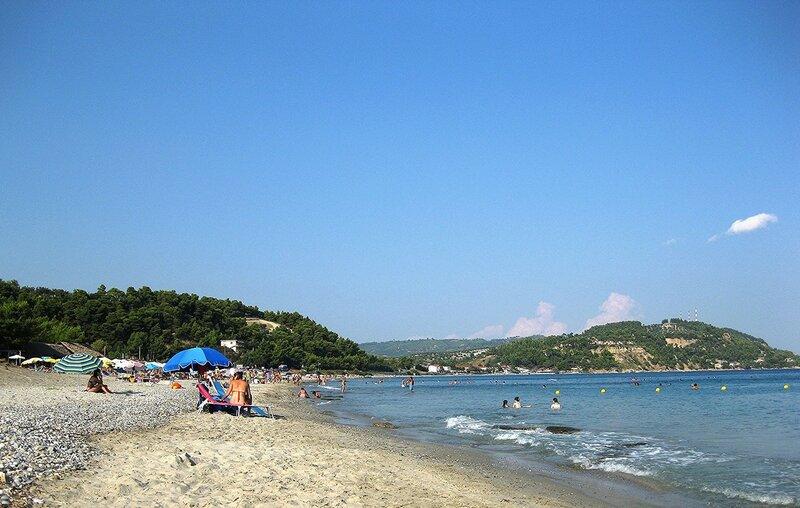 Август  на  Эгейском  море