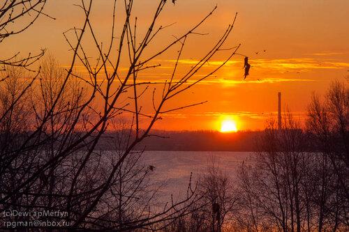 Рассвет над Первым озером