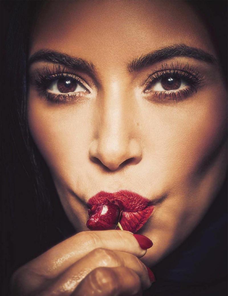 Ким Кардашьян в Vogue Mexico