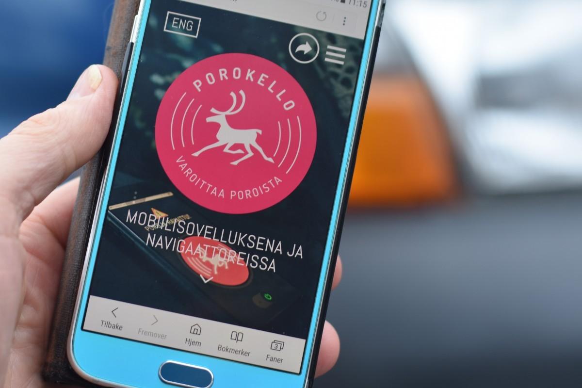 В Финляндии запустили мобильное приложение для обнаружения северных оленей (2 фото)