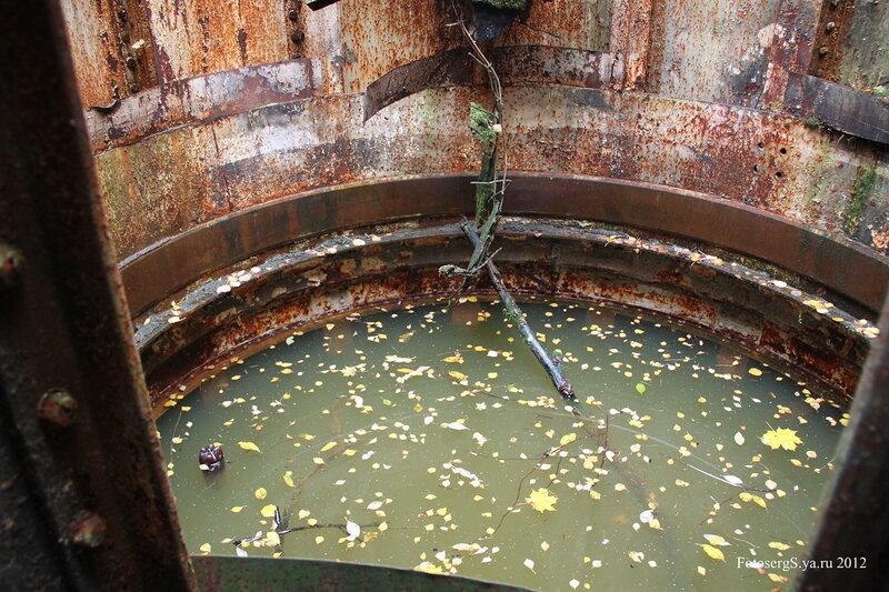 Затопленная шахта башни