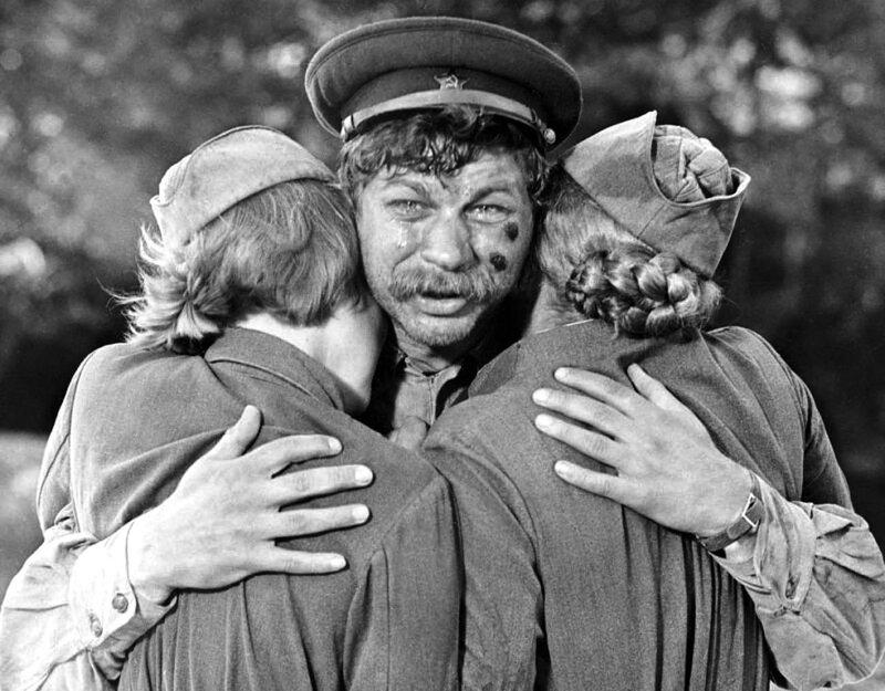 """""""А зори здесь тихие"""", Киностудия им.Горького, 1972 год"""