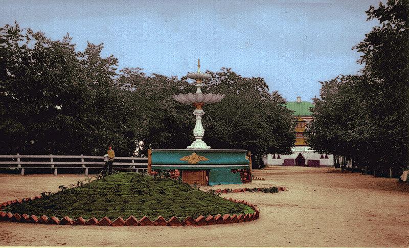 Фонтан в Новом сквере/Соборная площадь2 - начало ХХв, http://sanchess-city31.livejournal.com