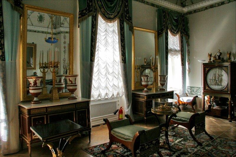 Павловский дворец, жилые комнаты Марии Федоровны, Спальня