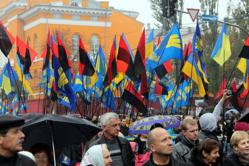 Флаги националистов