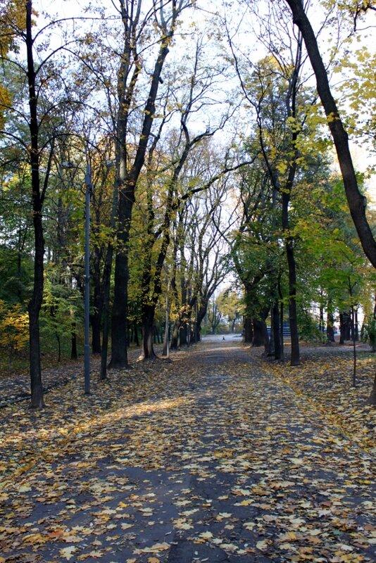 Владимирская горка в октябре
