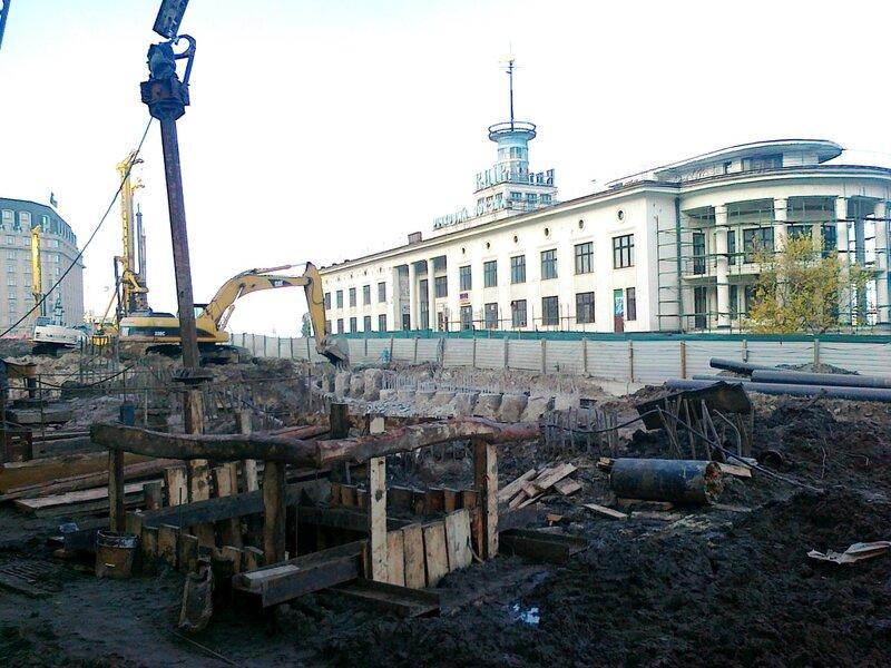 Реконструкция Почтовой площади