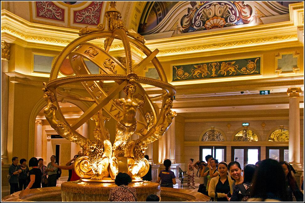Холл казино Венеция