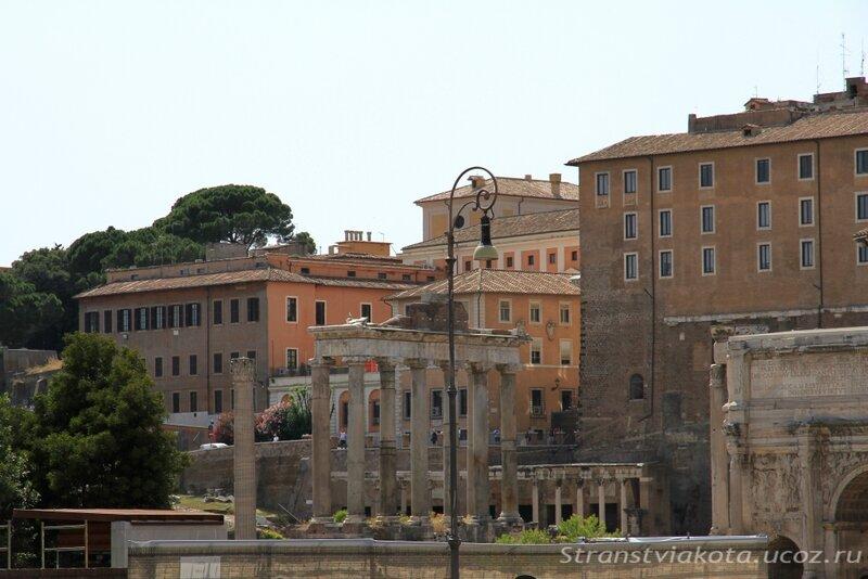 Италия, Рим, Римский Форум