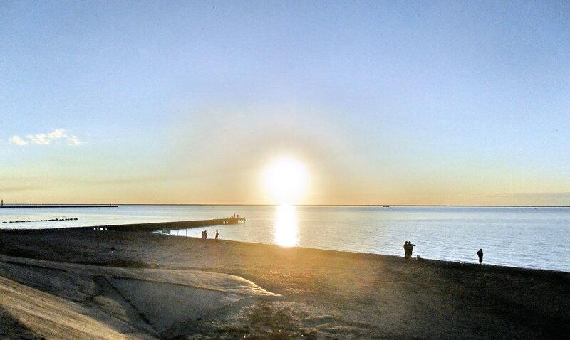Солнце, закатные мгновения, 10 октября 2012, 19:00