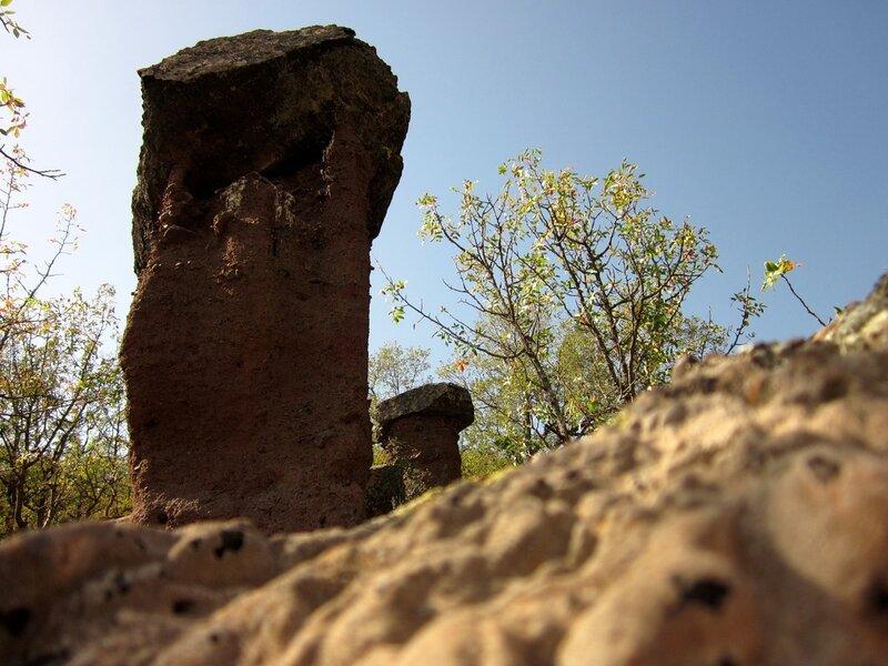 Крым: каменный гриб
