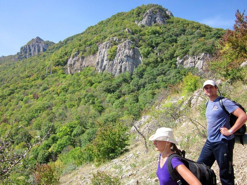 Тропа к водопаду Джурла