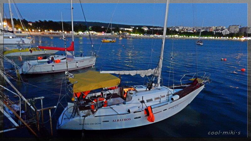 Яхта Альбатрос.