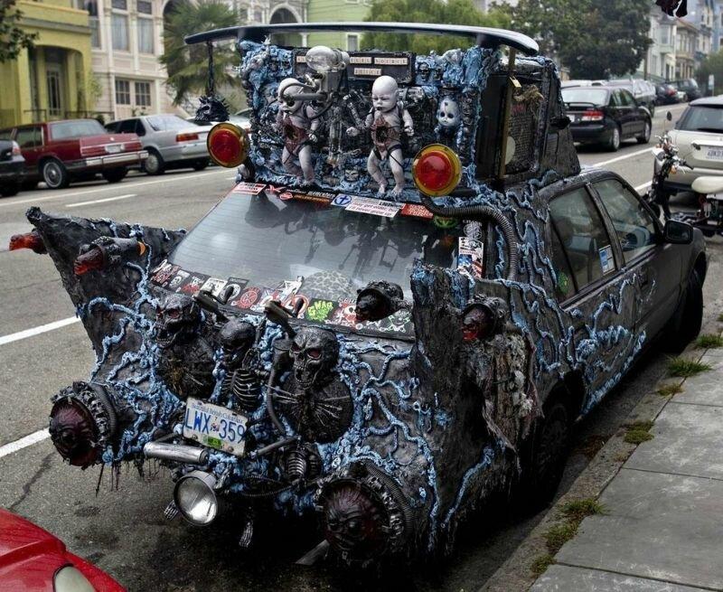 Автомобиль ванкуверского сотоны