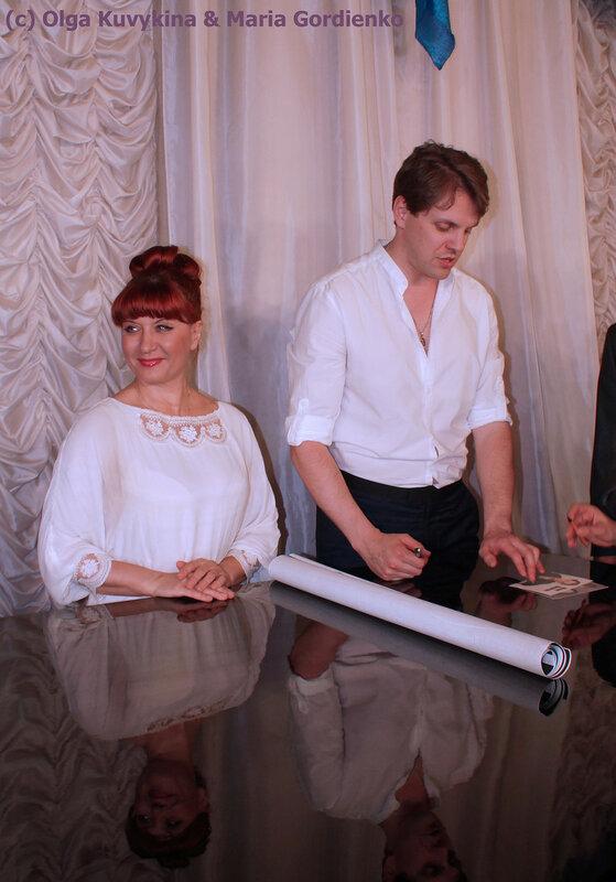 Елена Буланова и Иван Ожогин