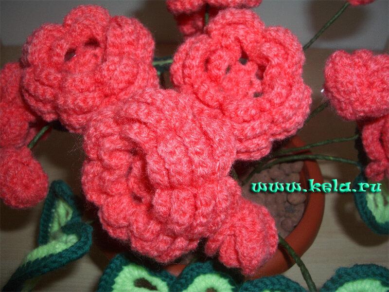 Вязания. вязаные цветы крючком схемы.