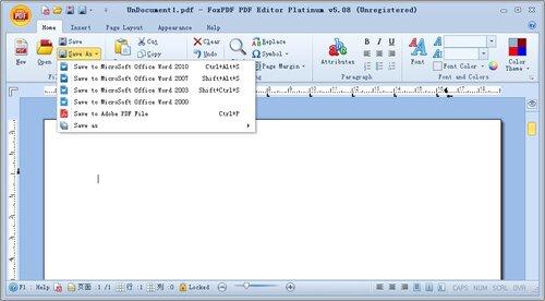 редактирование и конвертирование PDF