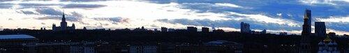 Осенняя панорама Москвы