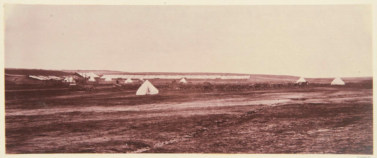 Олдершот. Лагерь артиллеристов