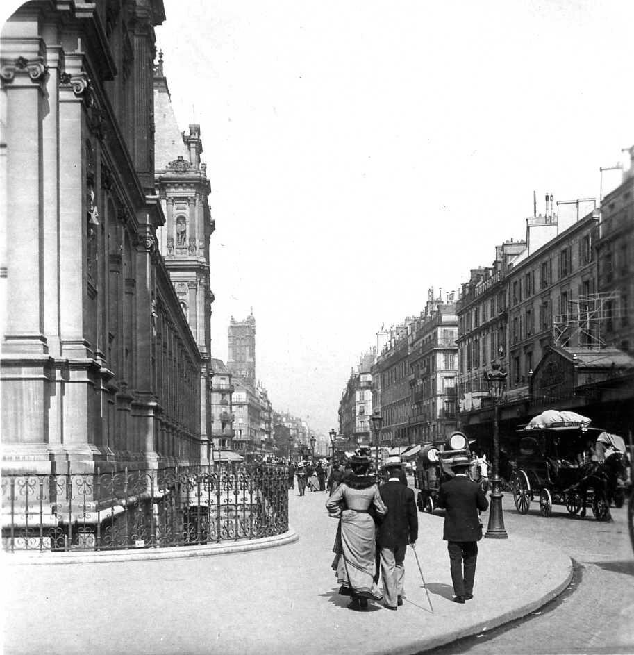 1906. Рю Риволи